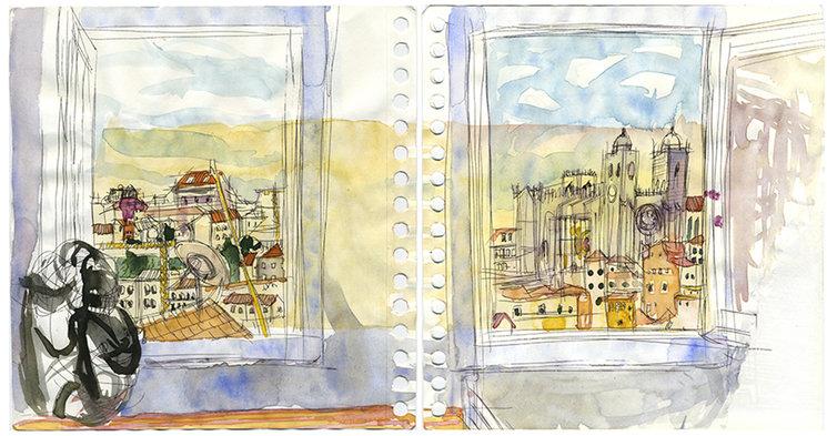 O Douro visto dende a Rosimunda