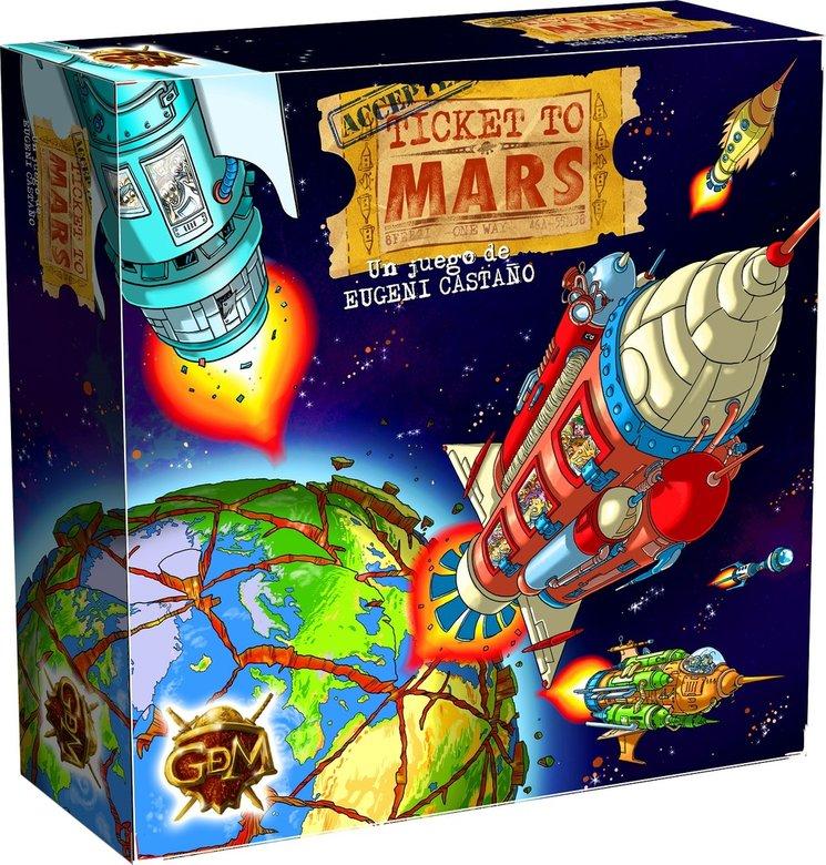 Ticket to Mars.
