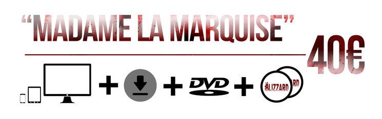 Aparición en los títulos de crédito + PACK DIGITAL + descarga digital del cortometraje(una vez finalizada la distribución del proyecto) + DVD edición especial Digibook firmado + stickers.