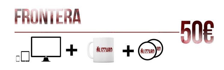 Aparición en los títulos de crédito + PACK DIGITAL + Visionado On-line (Sólo después de la presentación oficial) + Taza personalizada con el Logo + Stickers.