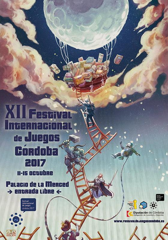 Cartel del XII Festival Internacional de Juegos de Córdoba