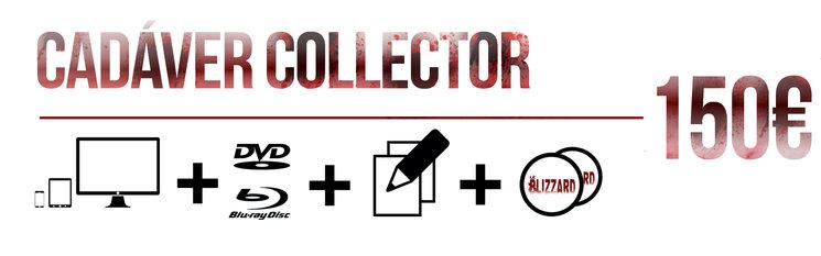 Aparición en los títulos de crédito + PACK DIGITAL  + visionado On-line (Sólo después de la presentación oficial) + DVD ó BluRay firmado + Esbozo original de los diseños de Poli Cantero firmado + Stickers.