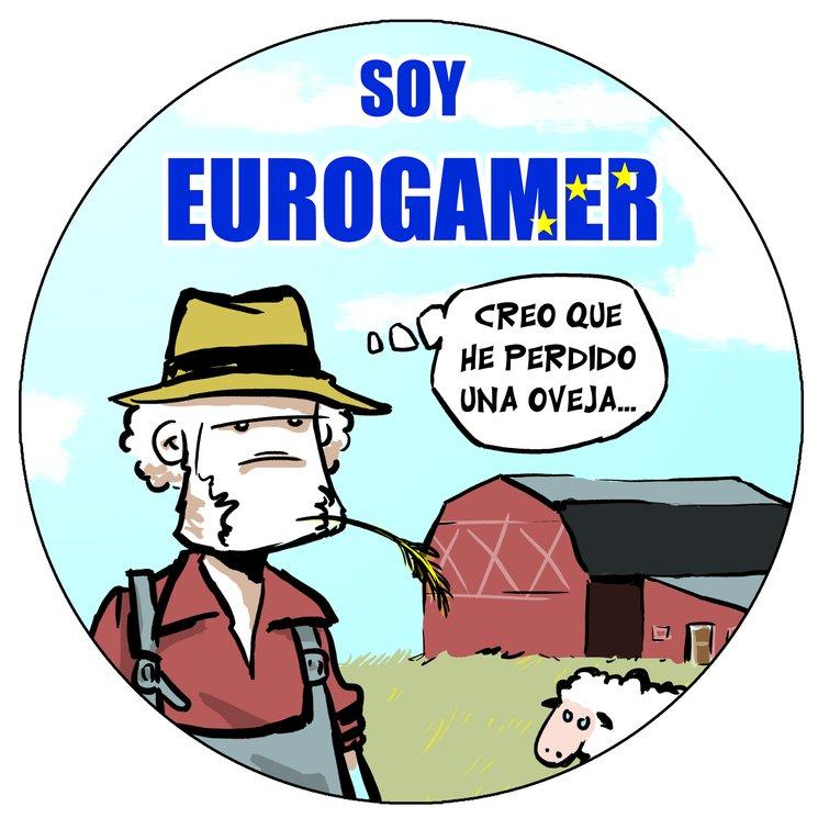 """Soy """"eurogamer""""."""