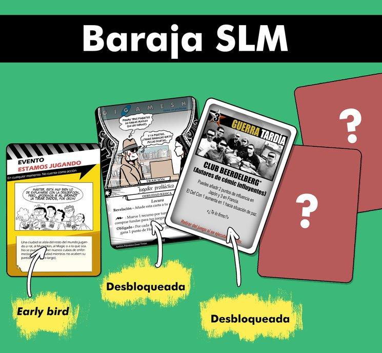 Así está la Baraja SLM hoy.