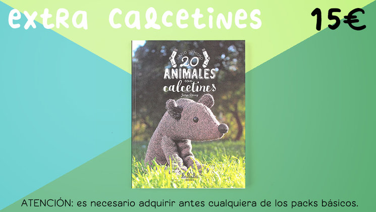 20 animales con calcetines