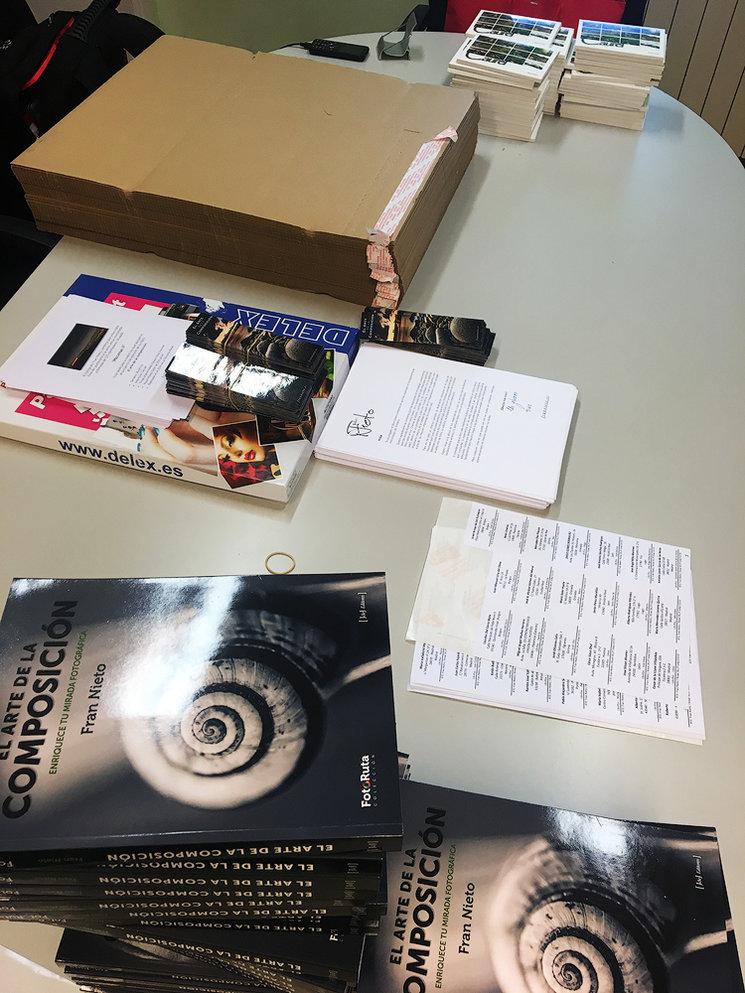 Los primeros libros ya están preparados