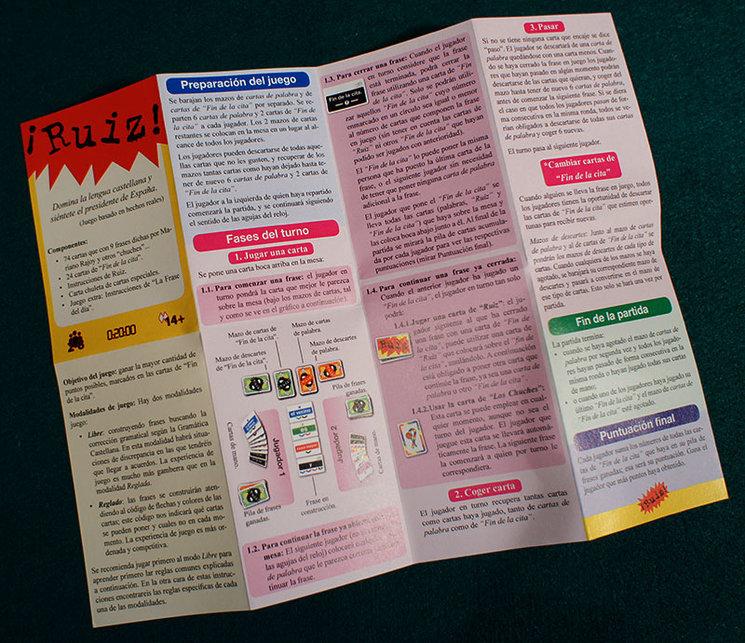 Instruccionaes de ¡Ruiz! en .pdf