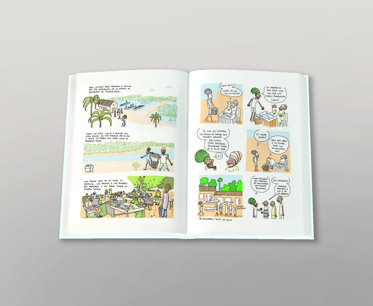 Páginas interiores del libro de LA ESCUELA