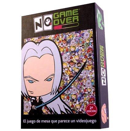 No Game Over, un juego de cartas para viciados de los videojuegos.