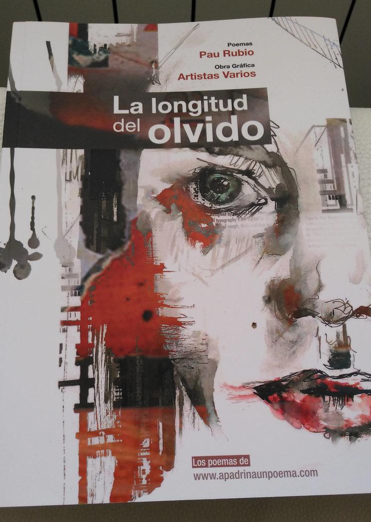 Prueba de impresión de la portada de La longitud del olvido