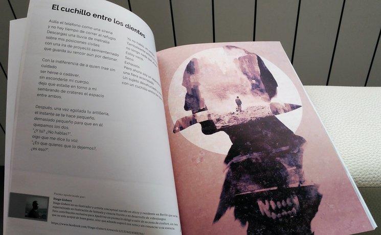 """""""El cuchillo entre los dientes"""", con ilustración de Diego Gisbert"""