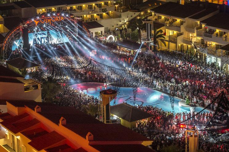Festa a Ushuaia, a Eivissa. Autor: Roberto Castaño.