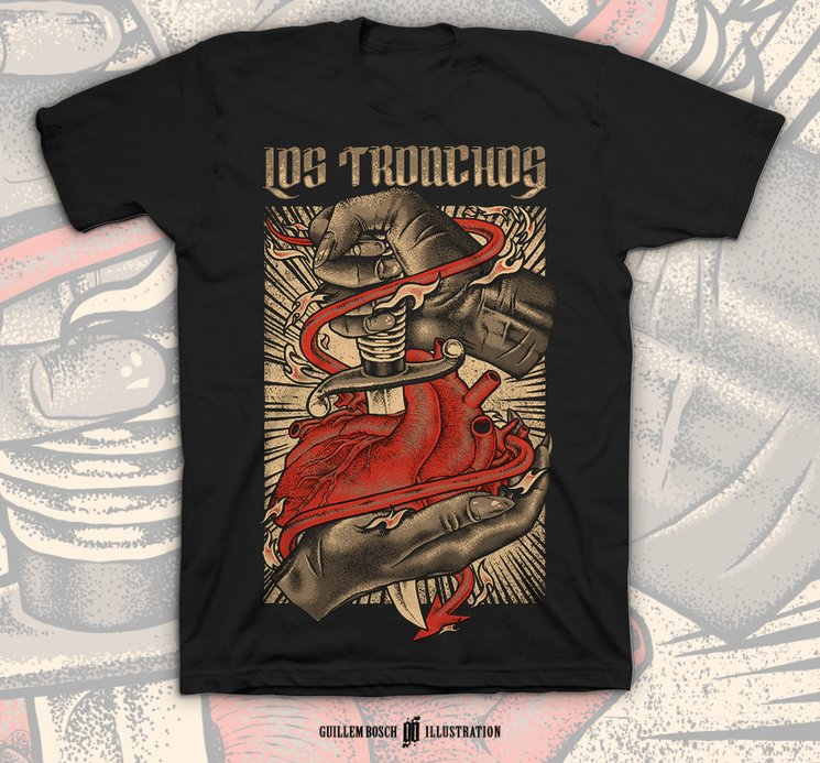 """""""Tiempos Salvajes"""" T-Shirt"""