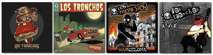"""""""Los Tronchos"""" Discography"""