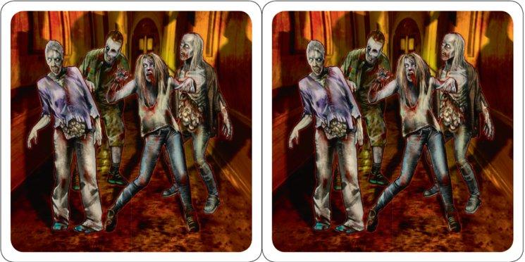 Cartas Zombies