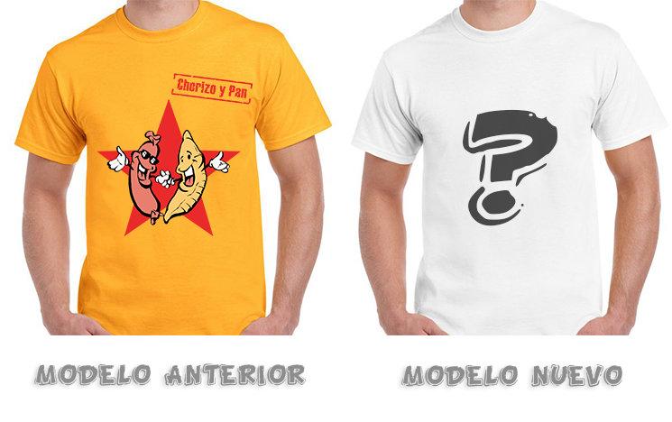 Durante la campaña podréis elegir el nuevo modelo de camiseta nueva