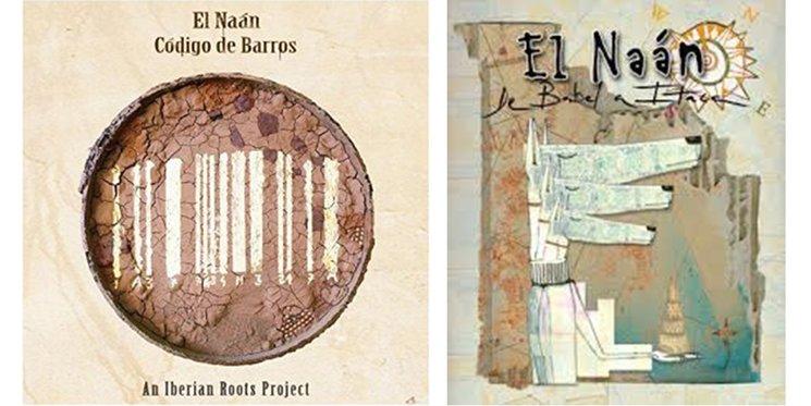 Portadas de los primeros dos discos de El Naán