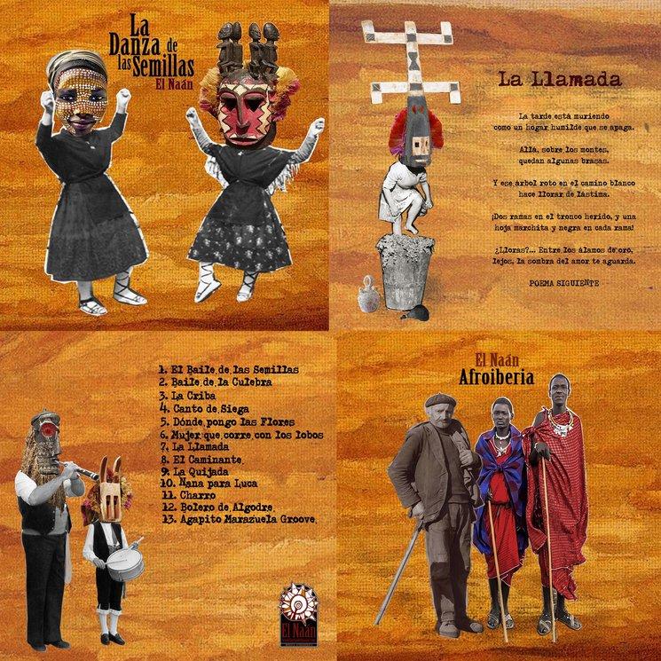 Ejemplos del libreto que acompañará el disco