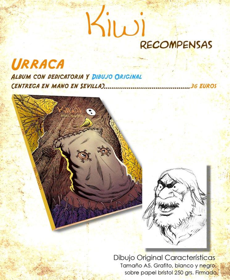 Recompensa Urraca