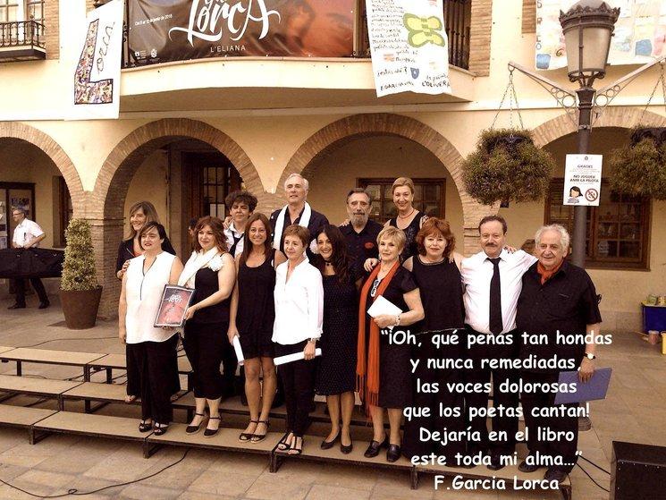 recital homenaje federico Garcia Lorca, l