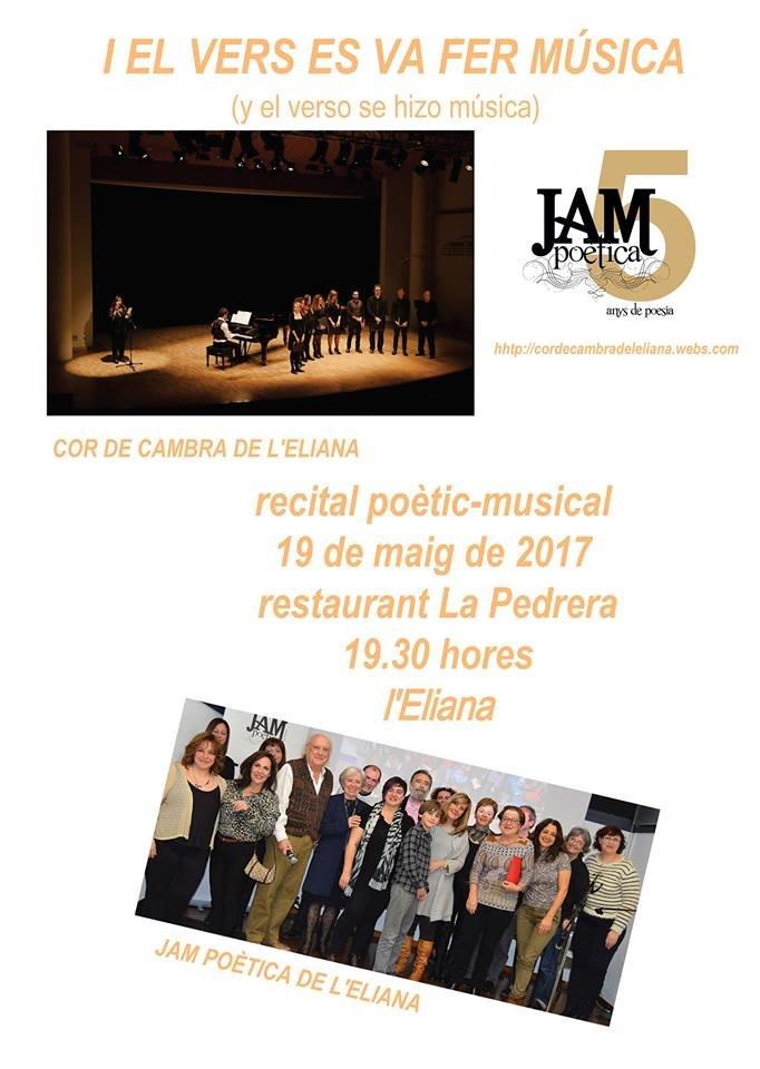recital conjunto Jam , cor de cambra, 2017