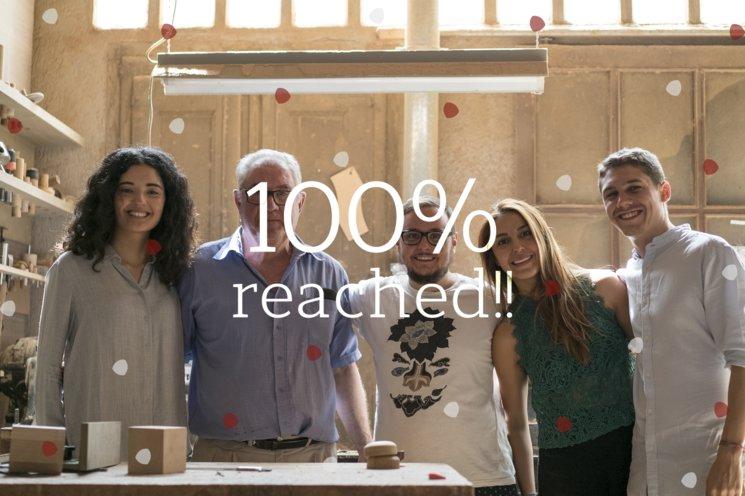 ¡Hemos llegado al 100% de nuestro objetivo!