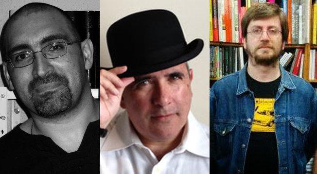 Miguel Ángel Naharro, Joseph Remesar y Luis Guillermo del Corral