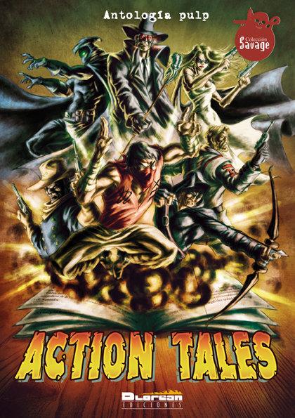 Vol 1 de Action Tales.Portada de José Baixauli