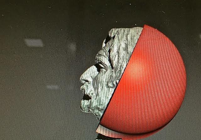 imagen de la pantalla del trabajo de Victor Ochoa digitalizado