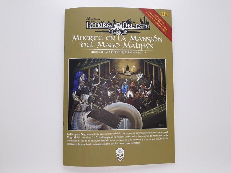Muerte en la Mansión del Mago Malifax ya impresa y PDF preliminar de La Catacumba de los Espantos de Kavadůz
