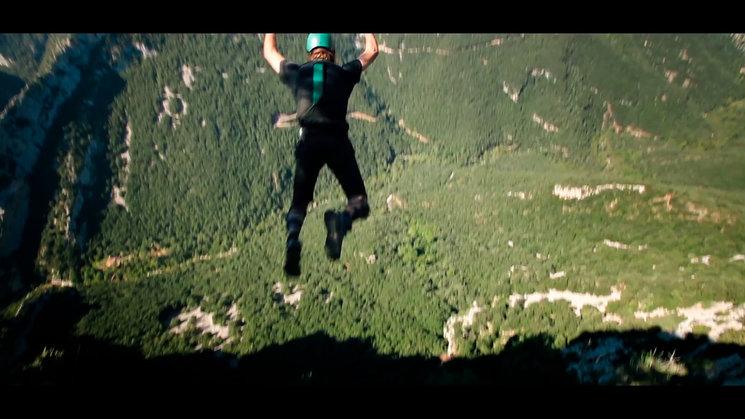 EXTRA Pau Pineda, impulsor del salto Base en Sadernes