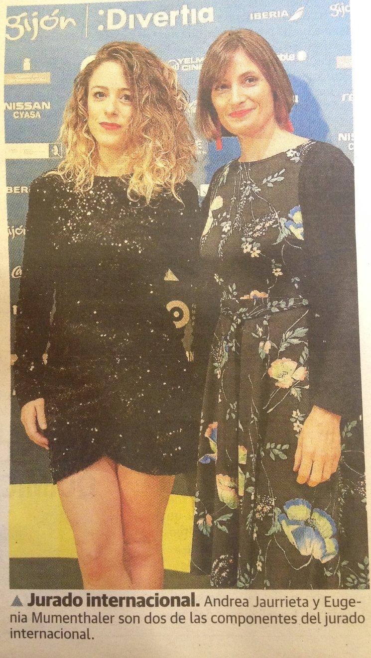 Andrea Jaurrieta y Eugenia Mumenthaler