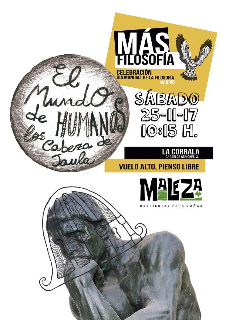 ¡VEN A FILOSOFAR CON NOSOTRAS! Este sábado por la mañana en Madrid