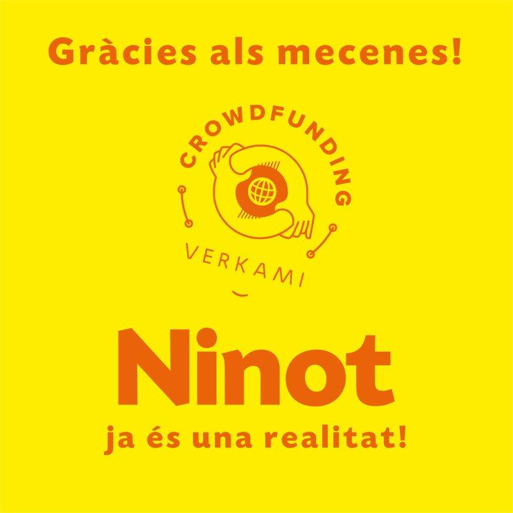 Ninot ja está en marxa!