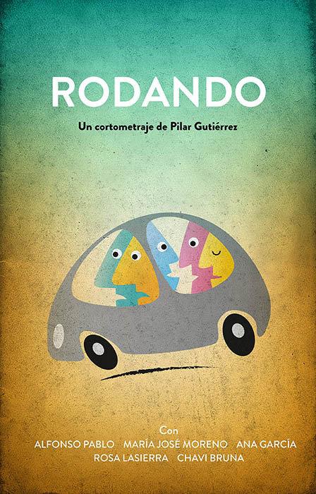Cartel Oficial de RODANDO