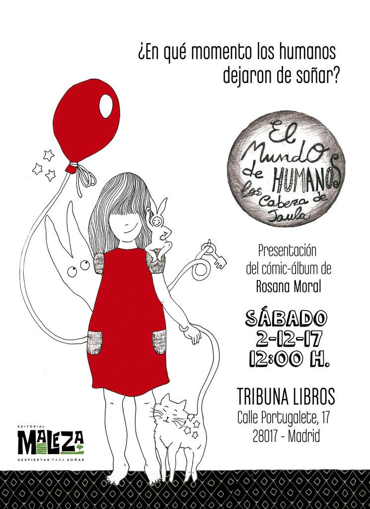 Este sábado 2 de Diciembre, última presentación del MalezaTour, en Madrid.