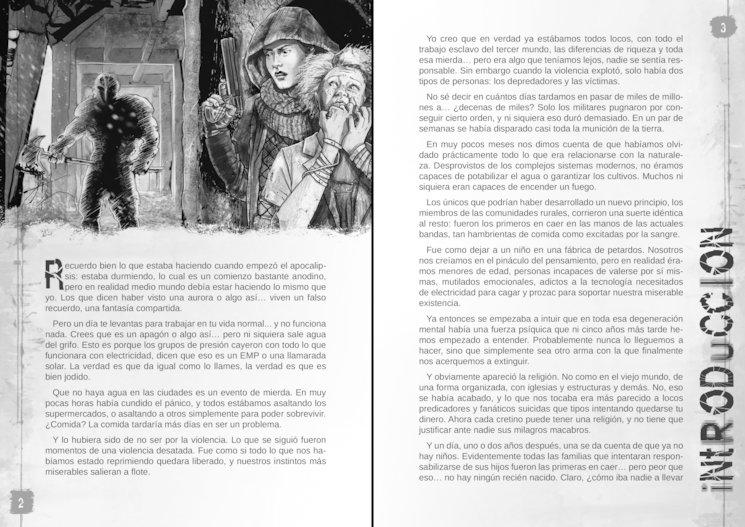 Ejemplo de la maquetación que tendrá el libro. Páginas creadas a modo de ejemplo, no definitivas.