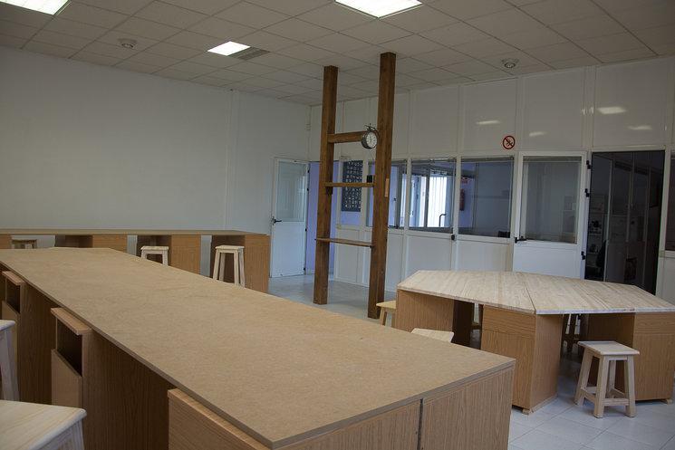 aula-taller del centro de oficios