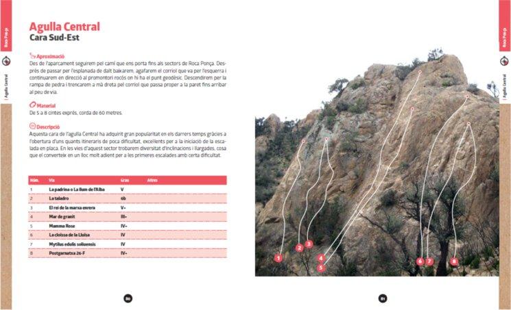 Exemple de zona de Roca Ponça