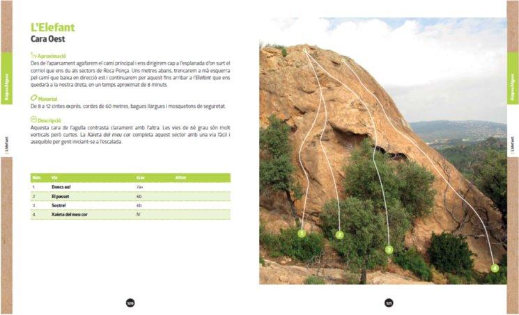 Exemple de la zona de Roques Àligues