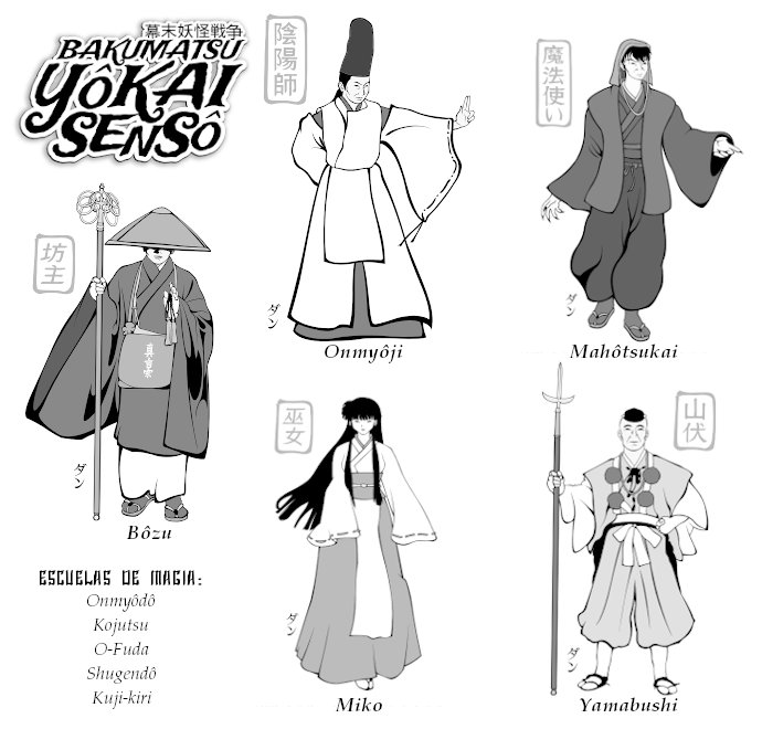Magia en el Japón del s.XIX — Bakumatsu Yôkai Sensô