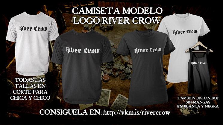 CAMISETA MODELO LOGO RIVER CROW