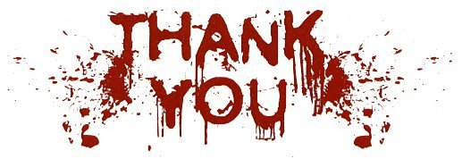 ¡Gracias, gracias, gracias!