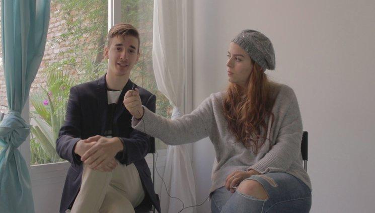 Miguel Torres y María Fombuena, creadores de Embarafobia
