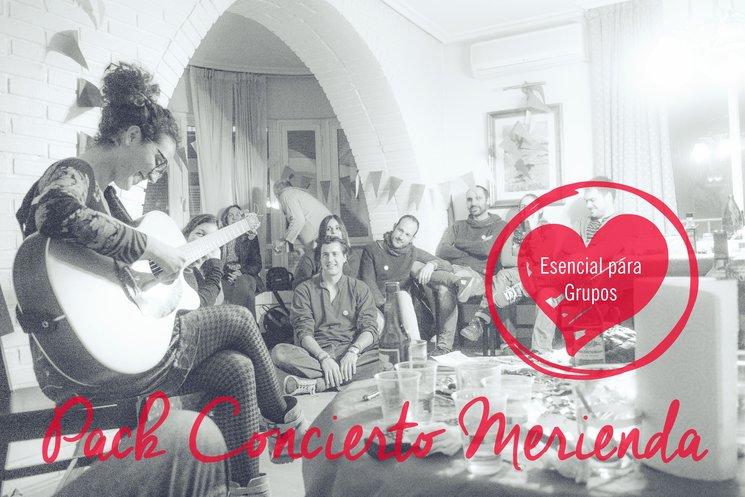 Pack concierto merienda, ¡una idea genial para participar en grupo!