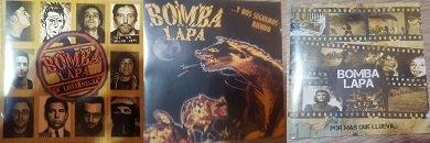 """*CD """"La Lista Negra""""*, *CD """"Y nos seguimos riendo""""* y *CD """"Por más que llueva""""*"""