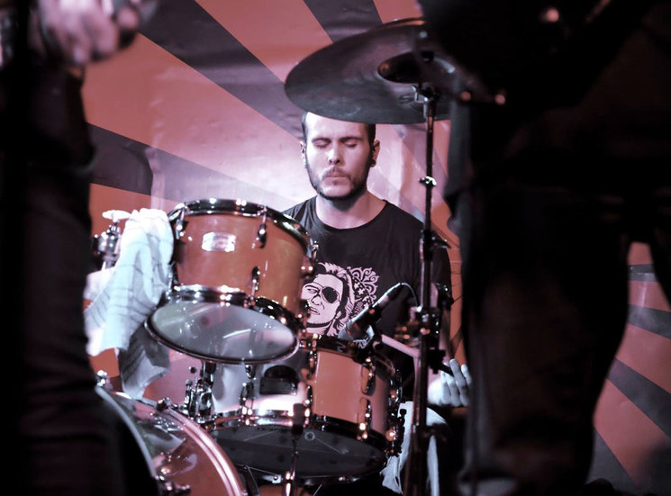 David Díez, batería