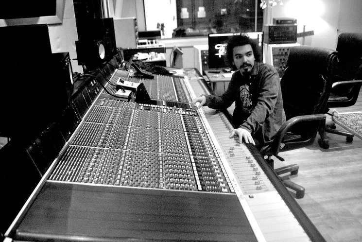 Eduardo Molina, productor del disco