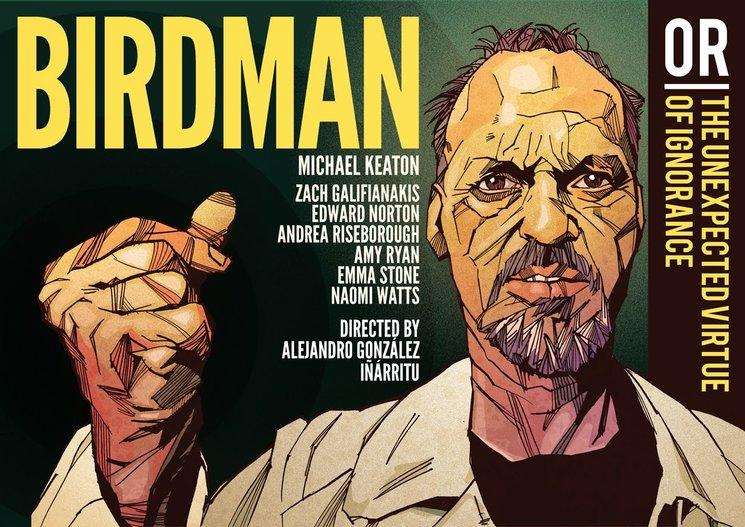 """Birdman"" dirigida por Alejandro González Iñárritu."