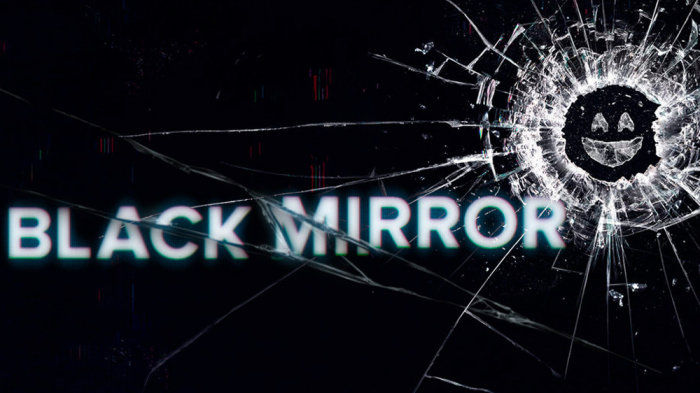 """Black Mirror"" creada por Charlie Brooker."